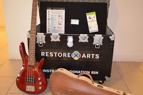 Restore Arts Instrument Donation Bin
